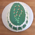 Pagosa Baking CO Easter Cream Cake